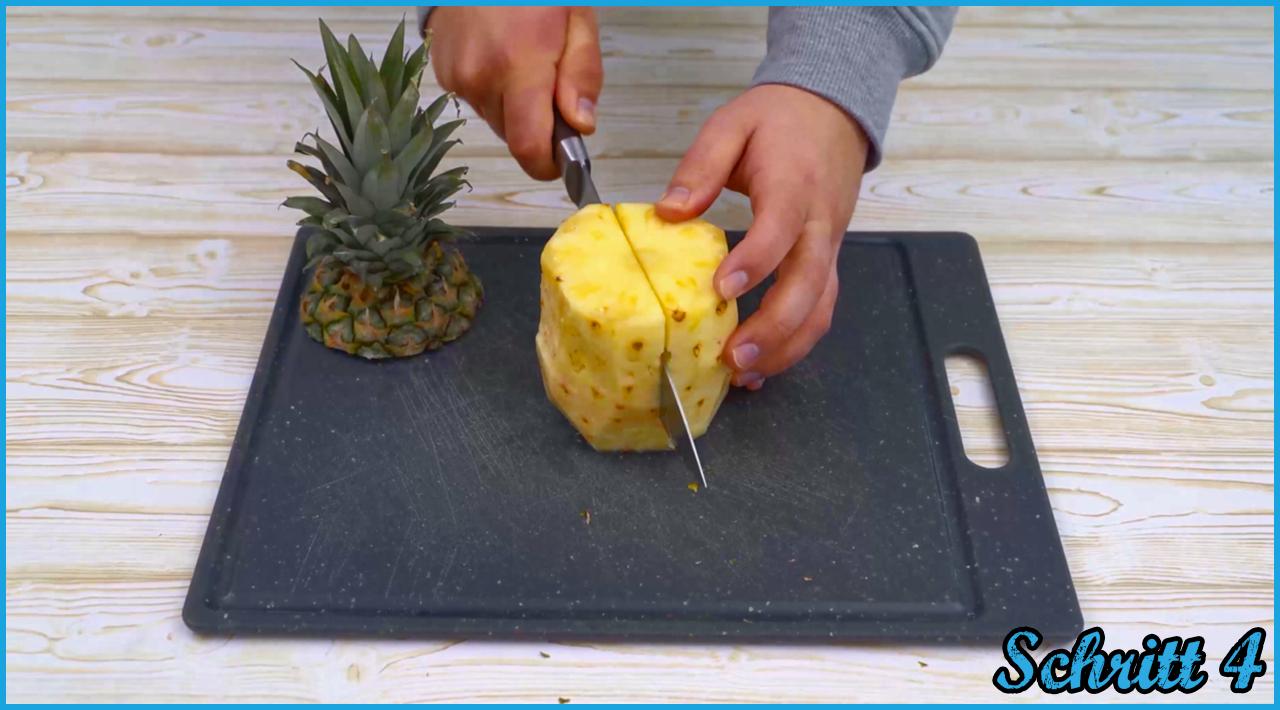 ᐅ Ananas Schneiden Einfache Anleitung + Video